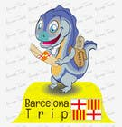 Contest Entry #52 for Barcelona Trip Website Logo with a Character Mascot (read carefully my requirements)