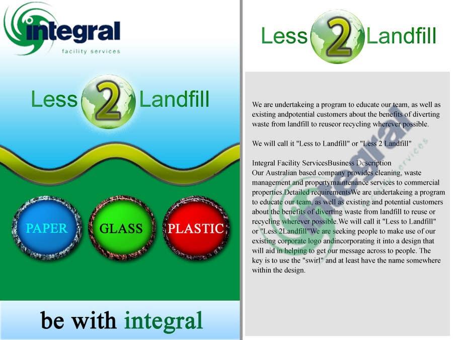 Konkurrenceindlæg #                                        64                                      for                                         Graphic Design for Integral Facility Services