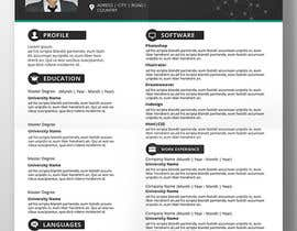 mdakasabedin tarafından Create as many unique Resume templates as you can in a week -- 1 için no 39
