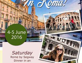 #15 for Design a Flyer for a company event in Rome by jassna