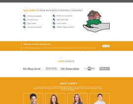 Nro 8 kilpailuun Design a New Website Mockup käyttäjältä husainmill