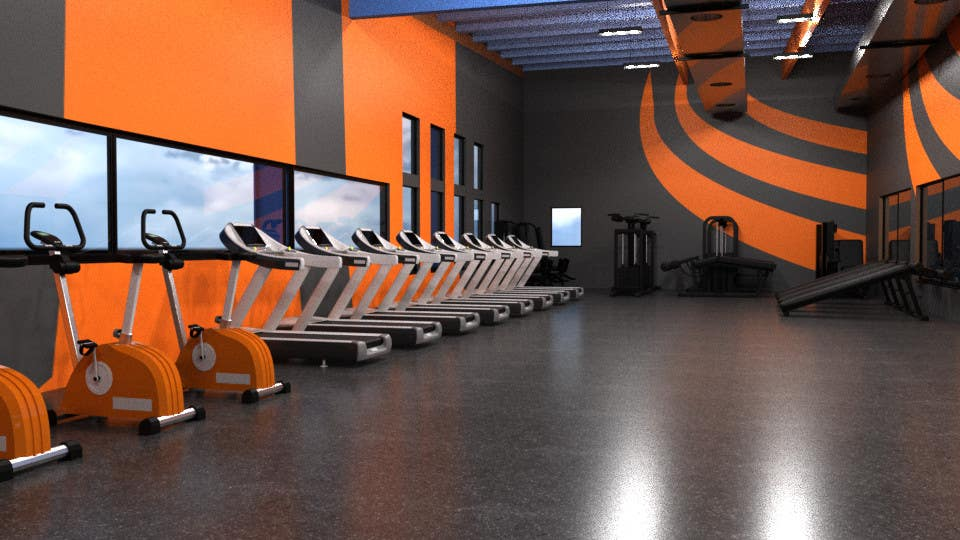 Contest Entry 28 For 3D Interior Design ADULT GYM