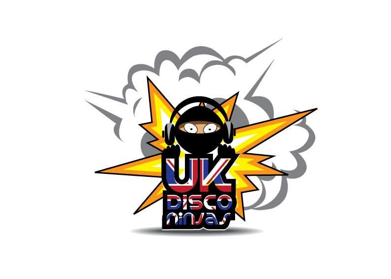 Inscrição nº 20 do Concurso para Design a Logo for UK Disco Ninjas clan