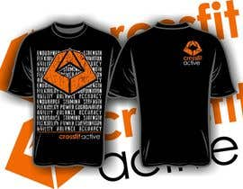 #7 para Design a T-Shirt for Crossfit Box por iYNKBRANE