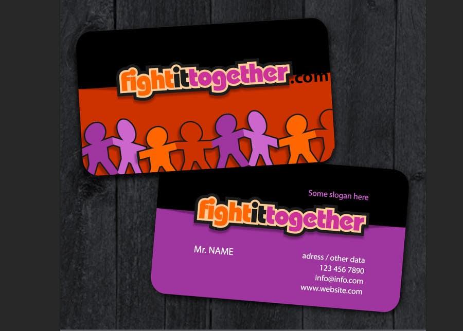 Need a cool business card design that matches our logo için 38 numaralı Yarışma Girdisi