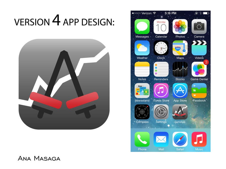 Contest Entry #109 for Design an App Icon for a Gym App