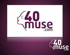#35 para Logo Design for 40muse.com,a digital publication for black women ages 40+ por ulogo