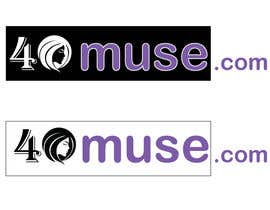 #1 para Logo Design for 40muse.com,a digital publication for black women ages 40+ por webaccer