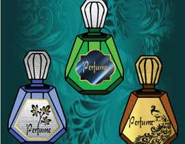icecad49 tarafından Perfume sticker label & Package with Business Cards. için no 1