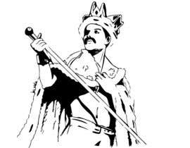 nº 5 pour design logo / illustration with freddie mercury par andreistejereanu