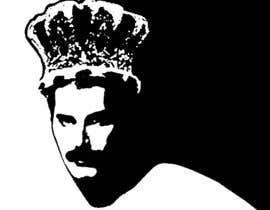 #37 untuk design logo / illustration with freddie mercury oleh mazila