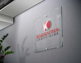 #28 untuk Design a logo for Karratha Party Hire oleh baiticheramzi19