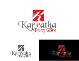 #40 untuk Design a logo for Karratha Party Hire oleh Debasish5555