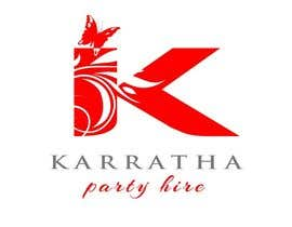#41 untuk Design a logo for Karratha Party Hire oleh icre8
