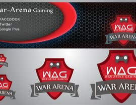 nº 31 pour Design a Logo for War-arena Gaming par GamingLogos