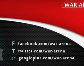 nº 34 pour Design a Logo for War-arena Gaming par GamingLogos