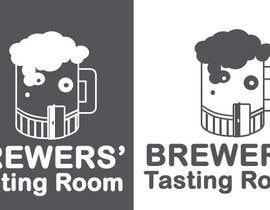 #4 para Design a Logo/T-Shirt for Brewers' Tasting Room por tadadat
