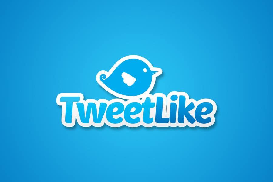 "#93 for Design a Logo for 'TweetLike"" by amauryguillen"