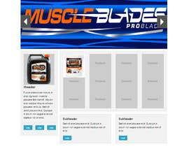 #2 para Build a new website for Throttle Muscle por arteq04