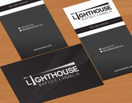 nº 33 pour Design some Business Cards for a Church par jobee