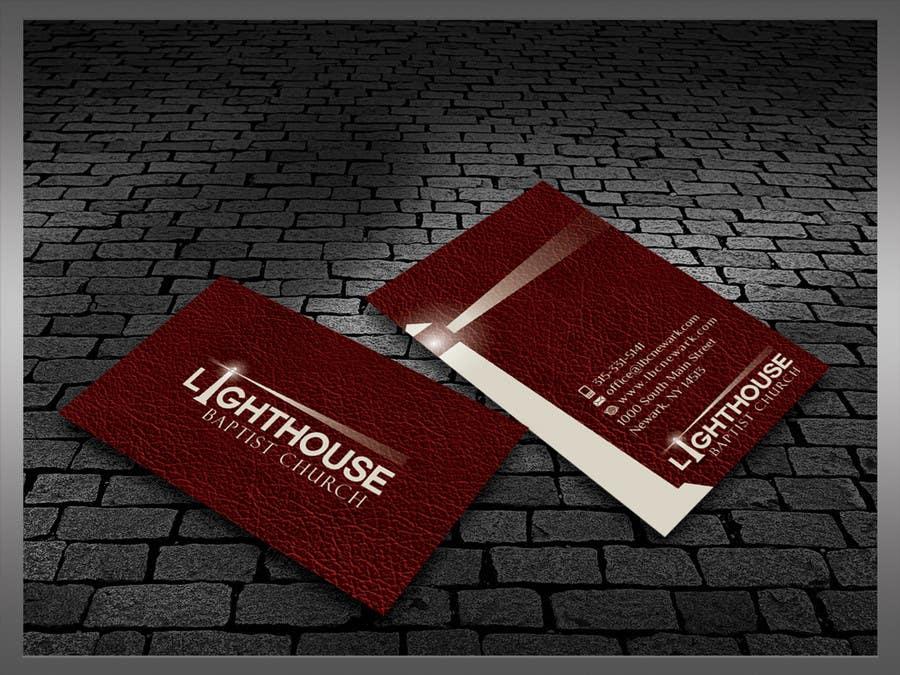 Inscrição nº 27 do Concurso para Design some Business Cards for a Church