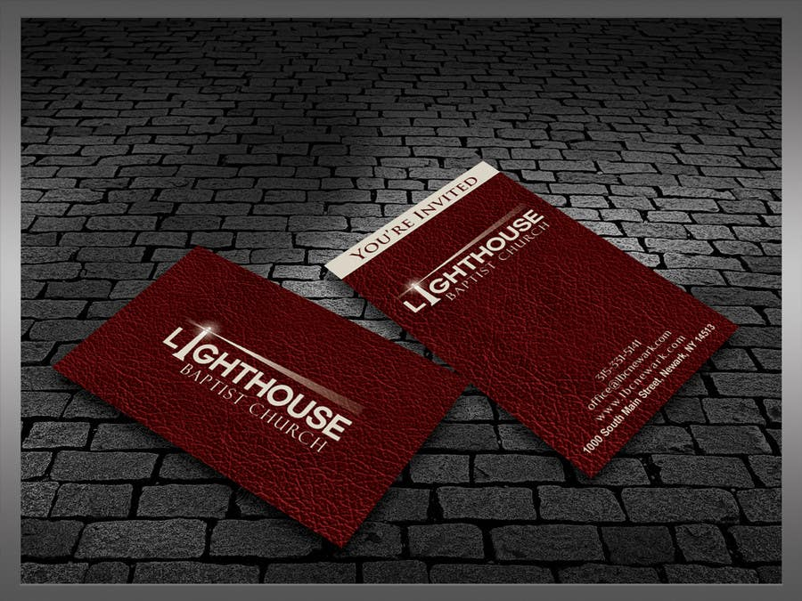 Inscrição nº 29 do Concurso para Design some Business Cards for a Church