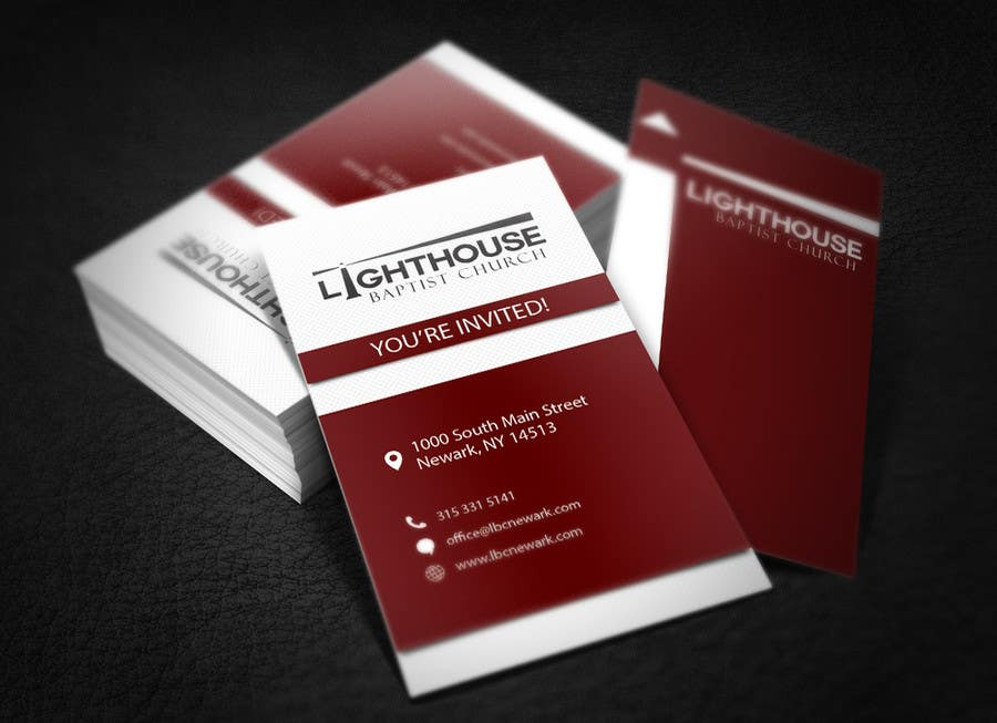 Contest Entry #36 for Design some Business Cards for a Church