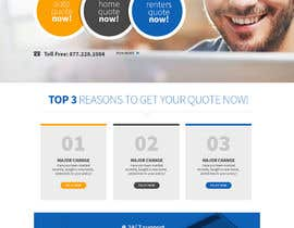#10 for Design a better landing page by Makkina