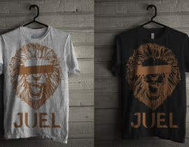 #26 para JUEL Lion T-shirt Design por husenamin