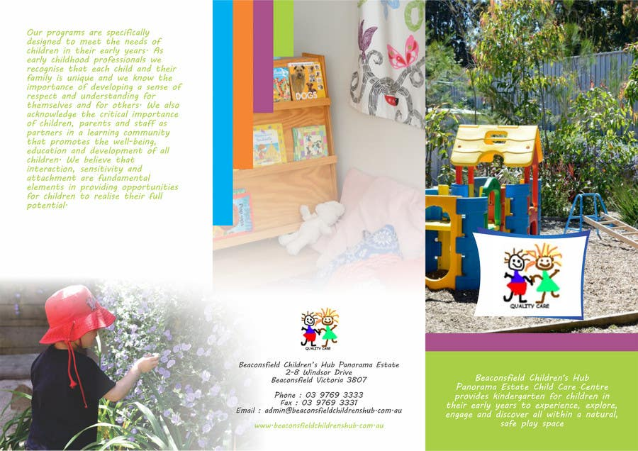 #3 for Design a Brochure for 3 related businesses by barinix