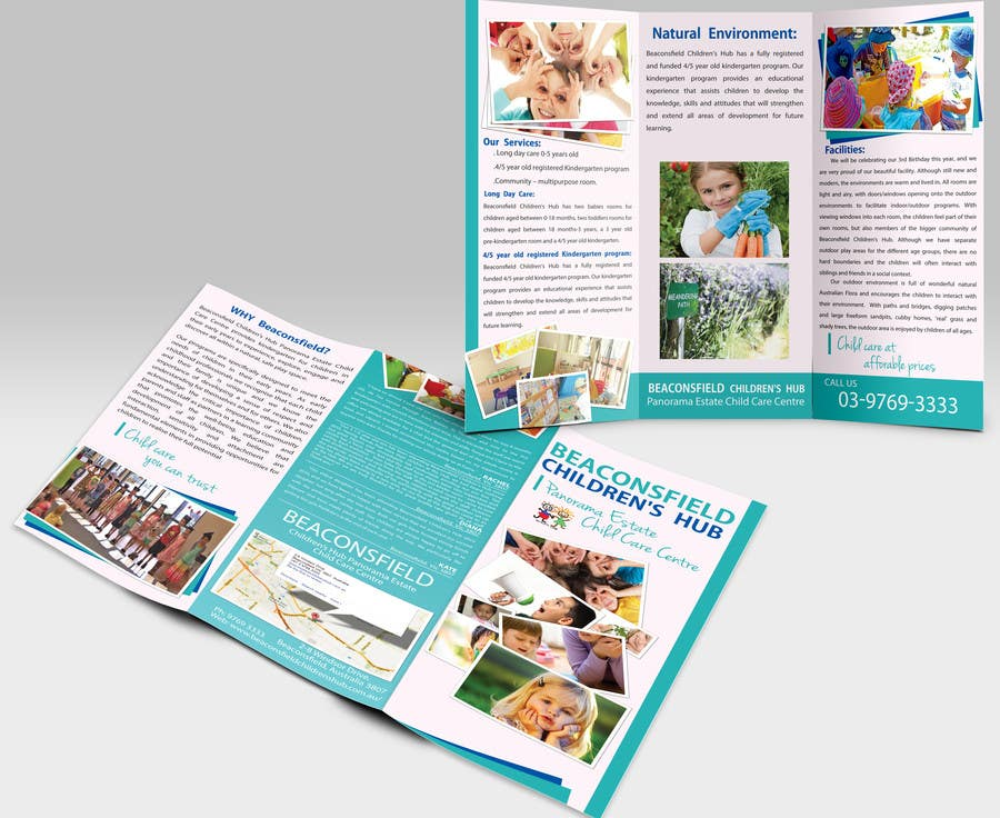 #4 for Design a Brochure for 3 related businesses by pcmedialab