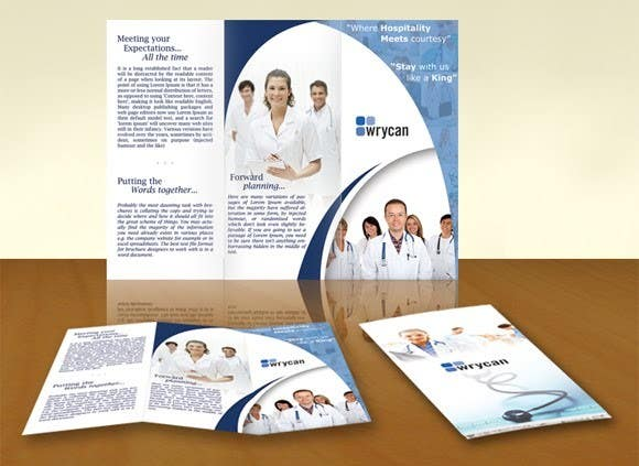 #17 for Design a Brochure for 3 related businesses by usaart