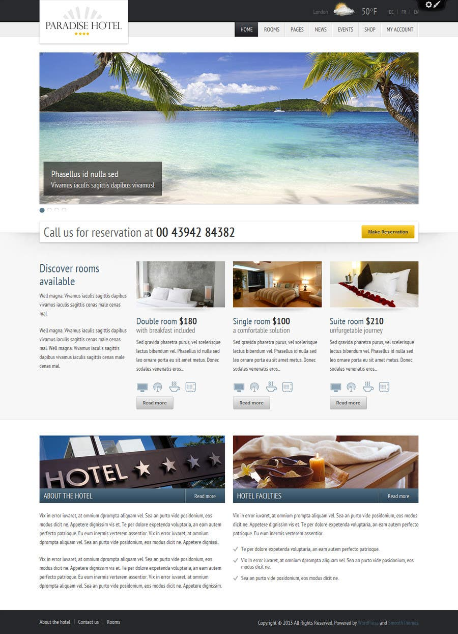 #4 for Istalling a wordpress tour booking site by wdwmkr