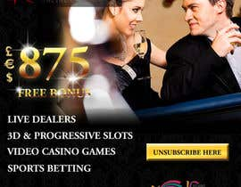 #27 for Design an Advertisement for an Online Casino by designerdesk26