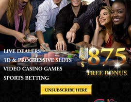 #28 for Design an Advertisement for an Online Casino af designerdesk26