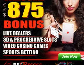 #17 for Design an Advertisement for an Online Casino af amcgabeykoon