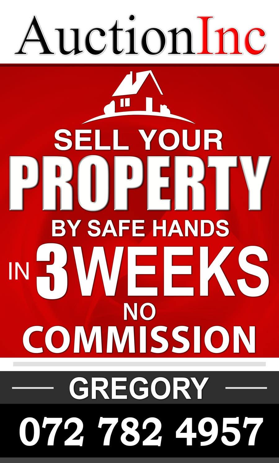 Inscrição nº 111 do Concurso para Design an Advertisement for Auction Company