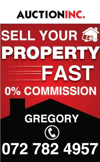 Inscrição nº 133 do Concurso para Design an Advertisement for Auction Company