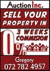 Logo Design Inscrição do Concurso Nº56 para Design an Advertisement for Auction Company