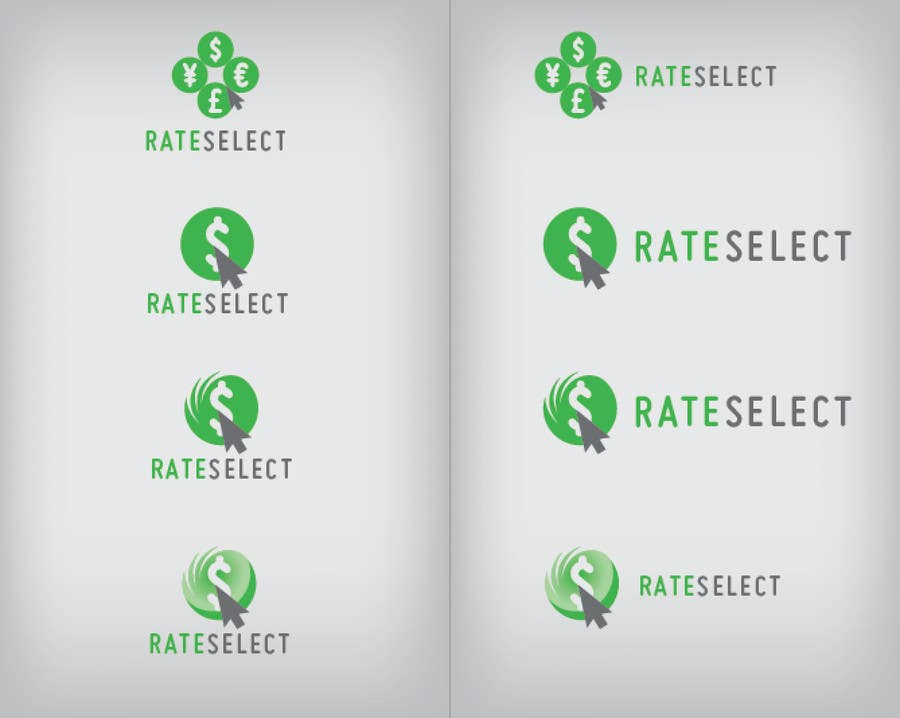#45 for Design a Logo for Rate Select by DavidClarkDesign