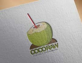 "whenitapproaches tarafından Design a Logo for a coconut water company called ""Coco Raw"" için no 25"