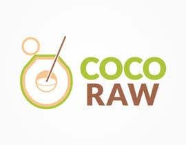 "toojolea tarafından Design a Logo for a coconut water company called ""Coco Raw"" için no 14"