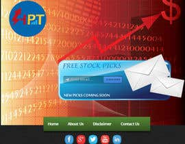 nº 3 pour Stock pick website with logo about 5 - 7 pages par thewolfmenrock