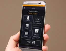 Nro 3 kilpailuun Design Mobile App Tile Screen käyttäjältä EAGLEDRAGON