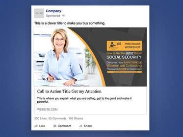 gmorya tarafından Facebook Ad for Social Security Webinar için no 19