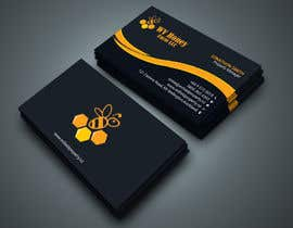 Nro 48 kilpailuun I need a busines card designed around or with our company logo.  We have a local bee business. käyttäjältä Kamrunnaher20