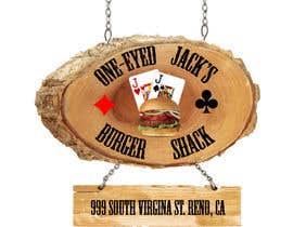 Intrinza tarafından Design a Logo for One-Eyed Jack's Burger Shack için no 15