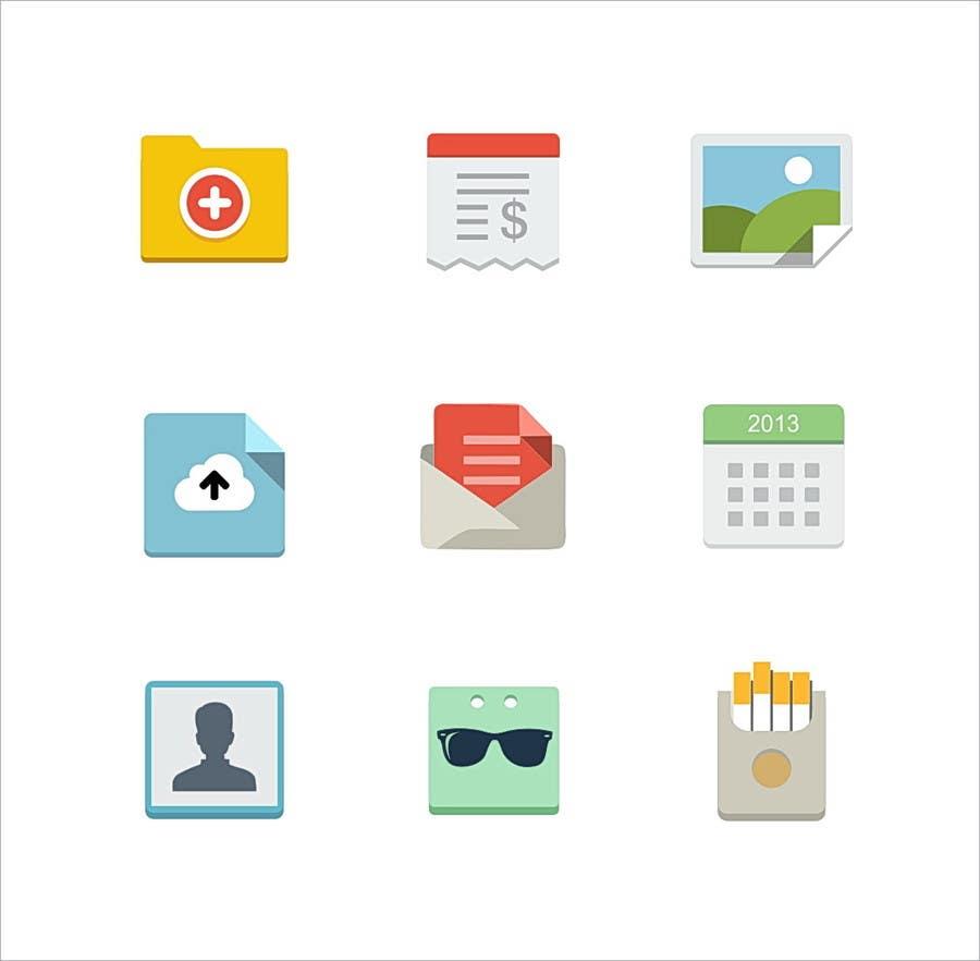 Konkurrenceindlæg #10 for Flat Icon set