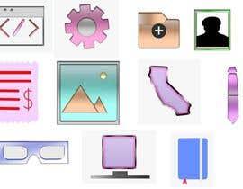 Nro 17 kilpailuun Flat Icon set käyttäjältä vinoasohan