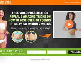 Nro 15 kilpailuun Weight Loss squeeze page/landing page käyttäjältä smartyogeeraj